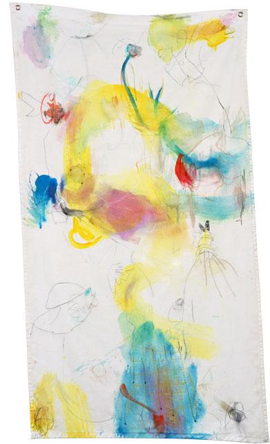Banner Frühlingsgefühle -Kerstin Mer Kunst
