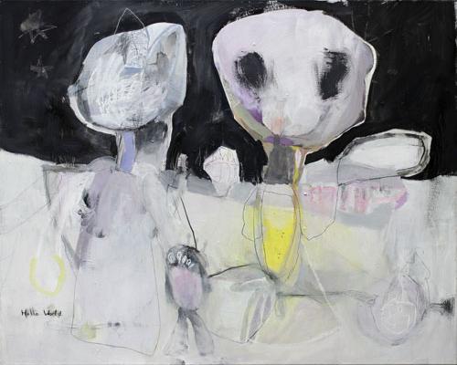 Hello World - Kunst Kerstin Mer