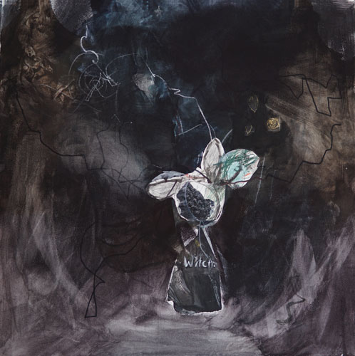 Witch - Zeichnung Kerstin Mer